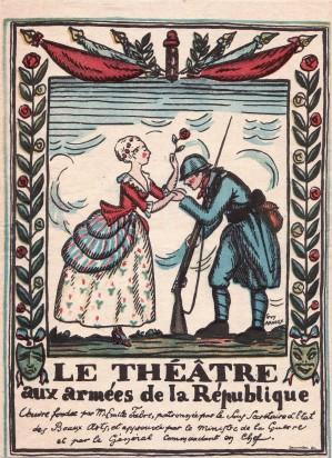 Théâtre aux armées