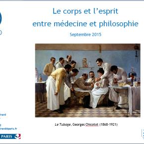 Le corps et l'esprit : entre médecine etphilosophie