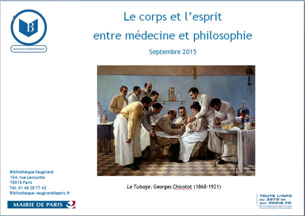 Le corps et l'esprit : entre médecine et philosophie