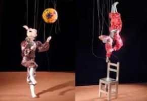Gaspard et Joséphine : théâtre de marionnettes àfils