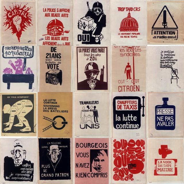 mai 68 : Affiches en lutte !