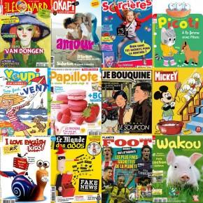 Espace Jeunesse : lesmagazines