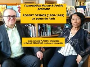ROBERT DESNOS : un poète àParis