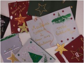 Viens créer ta carte de vœux personnalisée!
