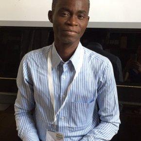Joseph, bibliothécaire à l'Alliance Française deLagos